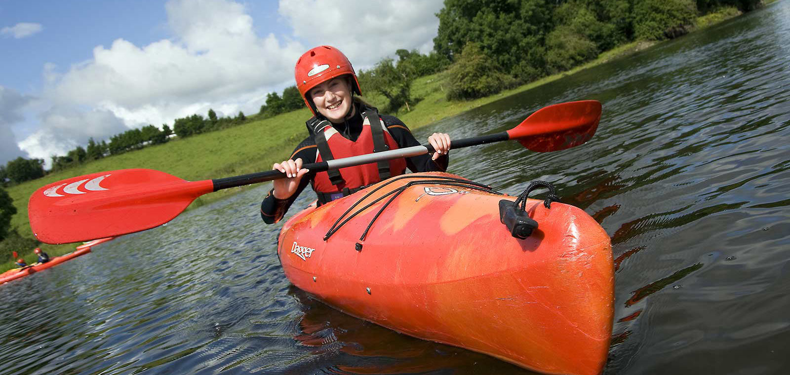 Kayaking in Athlone, at the heart of it